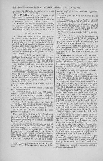 Tome 45 : Du 9 au 30 juin 1792 - page 334