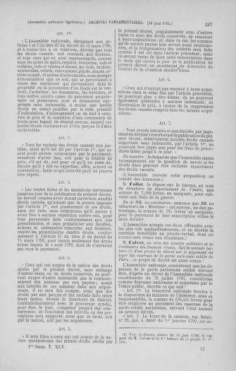 Tome 45 : Du 9 au 30 juin 1792 - page 337