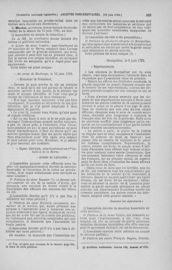 Tome 45 : Du 9 au 30 juin 1792 - page 363