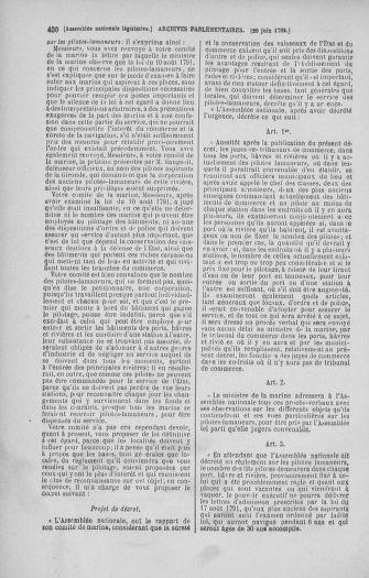Tome 45 : Du 9 au 30 juin 1792 - page 430