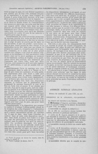 Tome 45 : Du 9 au 30 juin 1792 - page 479