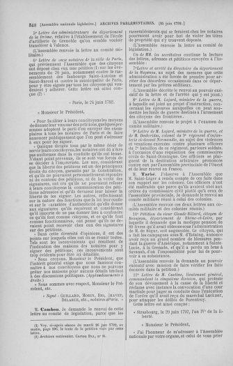 Tome 45 : Du 9 au 30 juin 1792 - page 548