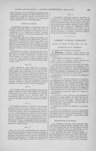 Tome 45 : Du 9 au 30 juin 1792 - page 569