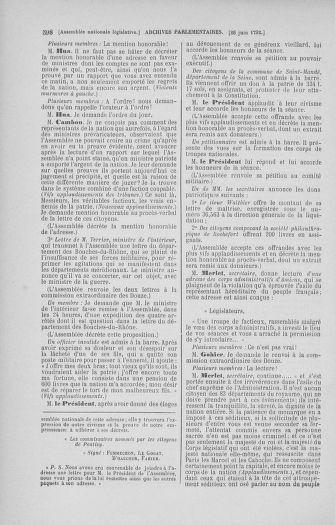 Tome 45 : Du 9 au 30 juin 1792 - page 598
