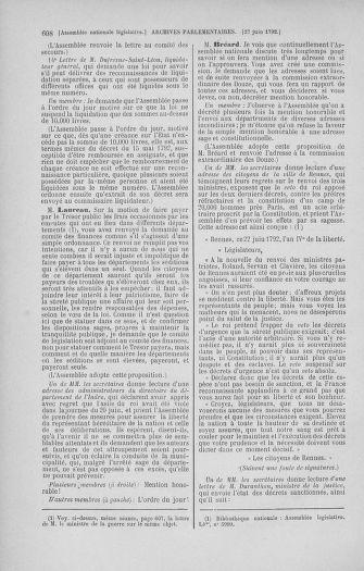 Tome 45 : Du 9 au 30 juin 1792 - page 608