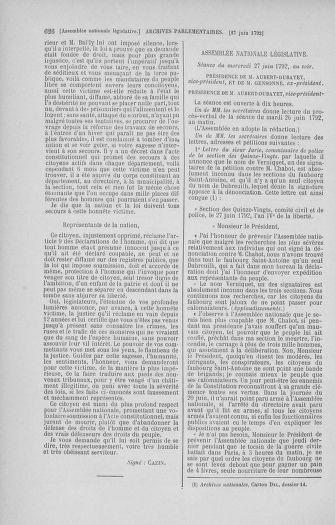 Tome 45 : Du 9 au 30 juin 1792 - page 626