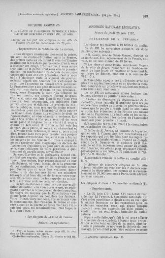 Tome 45 : Du 9 au 30 juin 1792 - page 643