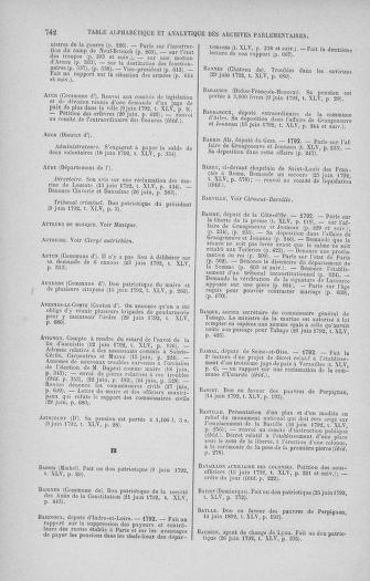 Tome 45 : Du 9 au 30 juin 1792 - page 742