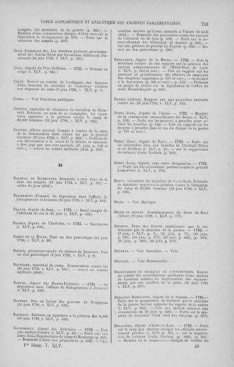 Tome 45 : Du 9 au 30 juin 1792 - page 753