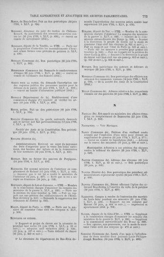 Tome 45 : Du 9 au 30 juin 1792 - page 775