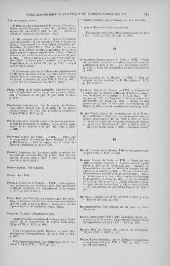 Tome 45 : Du 9 au 30 juin 1792 - page 781