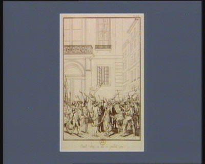 Nuit du 12 au 13 juillet 1789 [estampe]