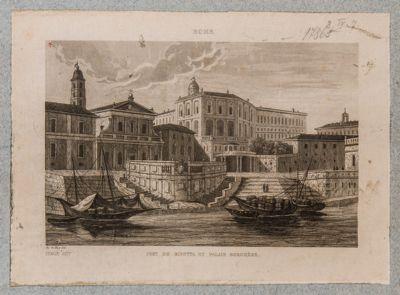Porto di Ripetta, veduta generale di fronte