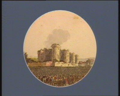 La  Destruction de la Bastille [estampe]
