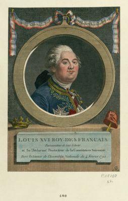 Louis XVI roy des Français restaurateur de leur liberté et se déclarant... : [estampe]