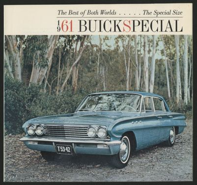 Buick Special (1961). Car Life road test June 1961