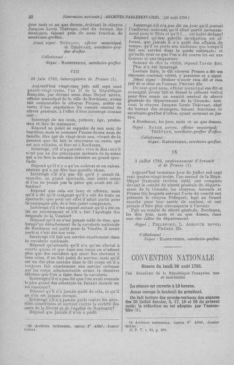 Tome 73 : Du 25 août au 11 septembre 1793 - page 42