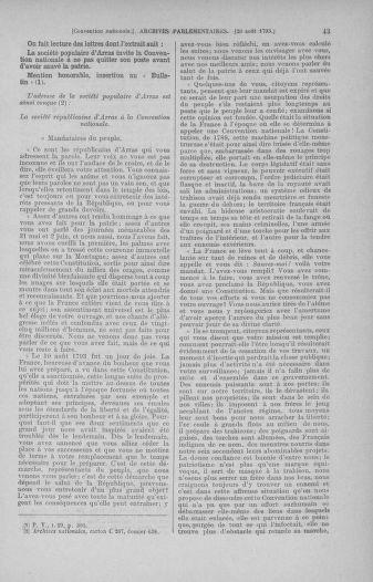 Tome 73 : Du 25 août au 11 septembre 1793 - page 43