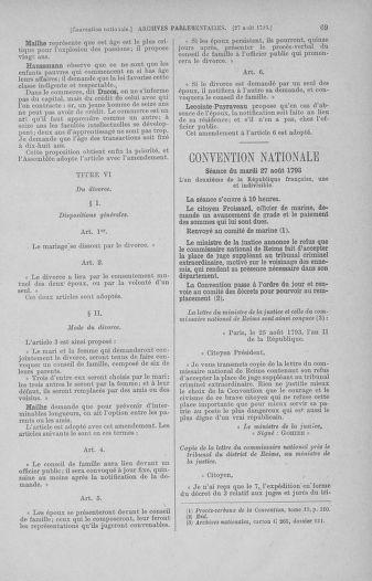Tome 73 : Du 25 août au 11 septembre 1793 - page 69