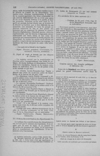 Tome 73 : Du 25 août au 11 septembre 1793 - page 102