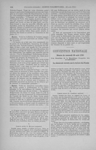 Tome 73 : Du 25 août au 11 septembre 1793 - page 108