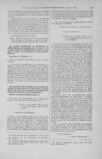 Tome 73 : Du 25 août au 11 septembre 1793 - page 119