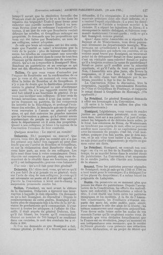Tome 73 : Du 25 août au 11 septembre 1793 - page 127
