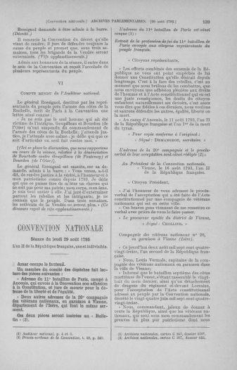 Tome 73 : Du 25 août au 11 septembre 1793 - page 139