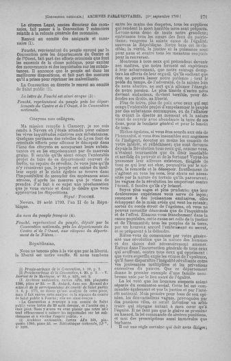 Tome 73 : Du 25 août au 11 septembre 1793 - page 271