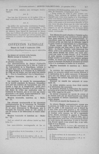 Tome 73 : Du 25 août au 11 septembre 1793 - page 317