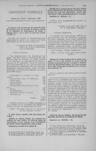 Tome 73 : Du 25 août au 11 septembre 1793 - page 343