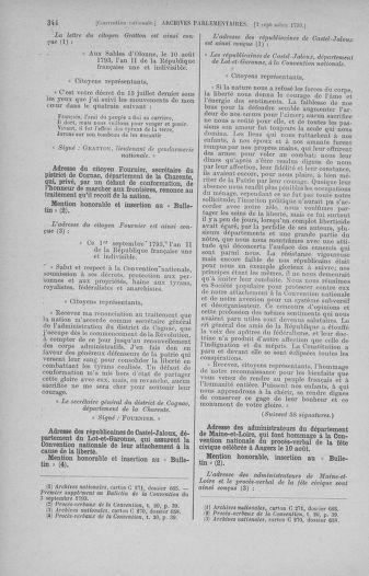 Tome 73 : Du 25 août au 11 septembre 1793 - page 344