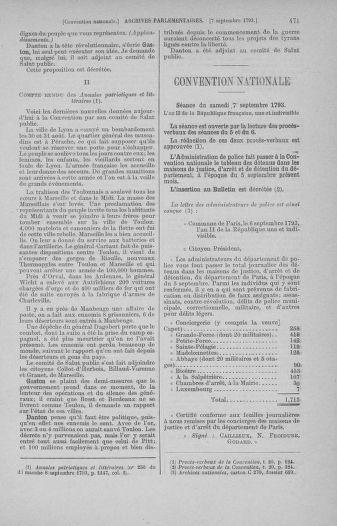 Tome 73 : Du 25 août au 11 septembre 1793 - page 471