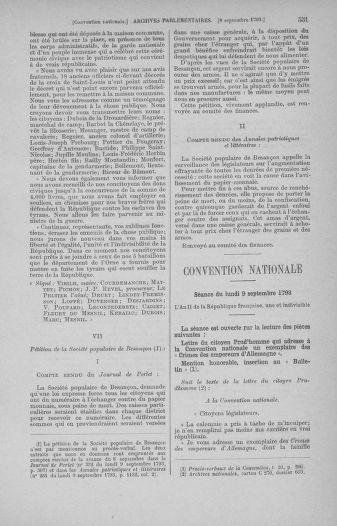 Tome 73 : Du 25 août au 11 septembre 1793 - page 551