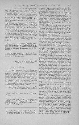Tome 73 : Du 25 août au 11 septembre 1793 - page 619
