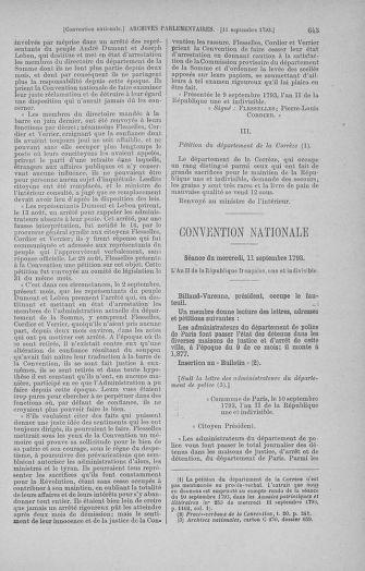 Tome 73 : Du 25 août au 11 septembre 1793 - page 645