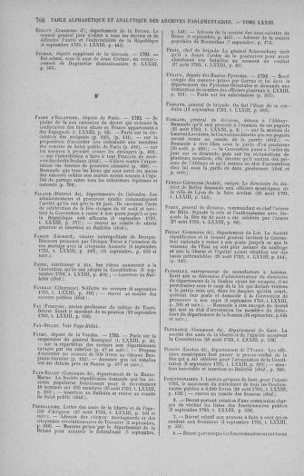 Tome 73 : Du 25 août au 11 septembre 1793 - page 768