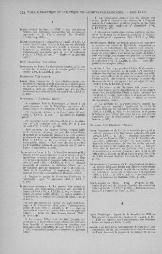 Tome 73 : Du 25 août au 11 septembre 1793 - page 774