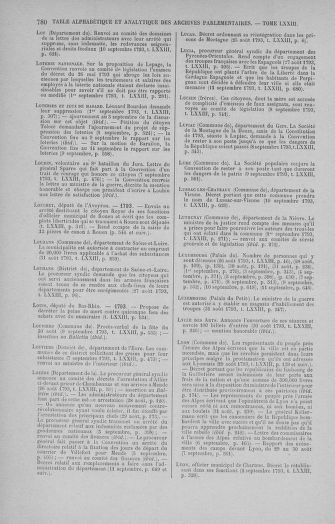 Tome 73 : Du 25 août au 11 septembre 1793 - page 780