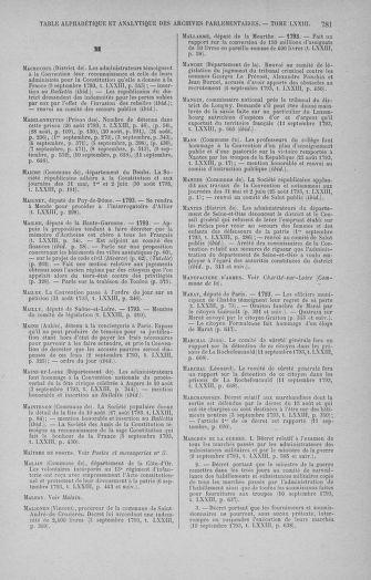 Tome 73 : Du 25 août au 11 septembre 1793 - page 781