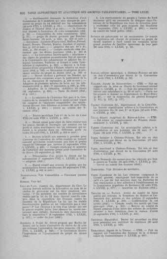 Tome 73 : Du 25 août au 11 septembre 1793 - page 800