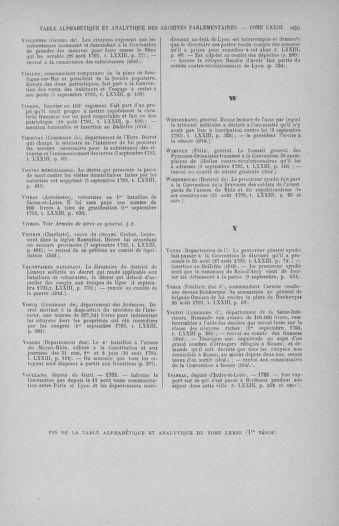 Tome 73 : Du 25 août au 11 septembre 1793 - page 805