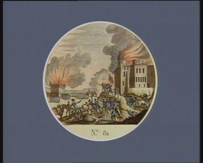 N.o 81 juillet 1792. Prise du camp de Jalès par les patriotes... : [estampe]