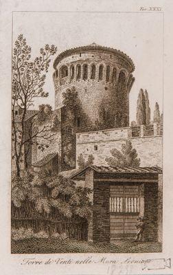 Mura vaticane. Torre dei Venti