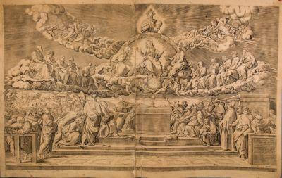Palazzo Vaticano. Sale di Raffaello, La disputa del Sacramento