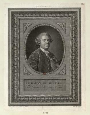 Le  Baron de Breteuil Ministre et Secretaire d'Etat [estampe]