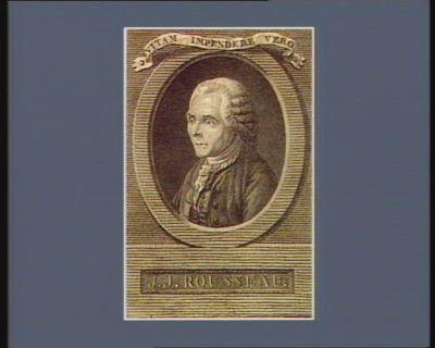 Vitam impendere vera J.J. Rousseau : [estampe]