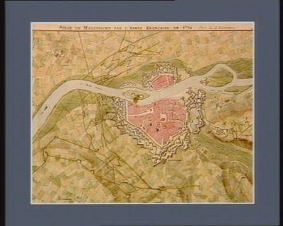 Siège de Maestricht par l'armée française en 1794 [dessin]