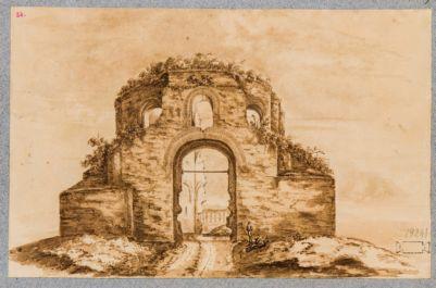 Tempio detto di Minerva Medica, veduta generale