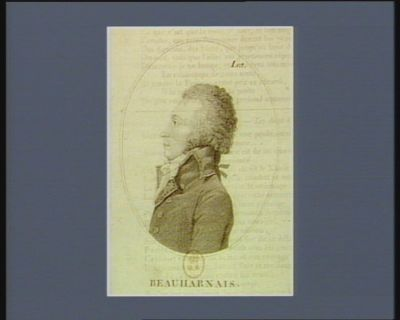 Beauharnais [estampe]